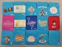 Bolsa de embalaje Cereal Gelatti Bolsas vacías California SF 3.5G Mylar White Runtz Minntz London Libra Toque Piel A prueba de niños Gary Payton