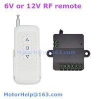 Interruptor remoto do Smart Home Control 6VDC 12V DC RF para o atuador linear