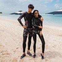 Wetsuits Couple Sports Plongée Scènes Scènes Scènes Scènes Scole de Jellyfish Snorkeling Surfing Séchage rapide Séchage de maillot de bain