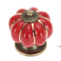 4*4*4 Cm Kitchen Cabinets Knobs Bedroom Cupboard Drawers 7 Colors Ceramic Door Pull BWE6244
