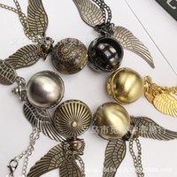 Harry Porter's Light Ball Watch, Bronze Wings, Pumpkin Spider Tiktok, Pendant Necklace