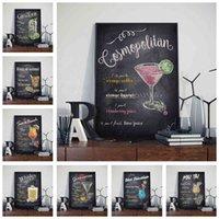 Bar Pub Internet Café Décoration Cocktail Mur Art Nursery Room Salle Peinture Accueil Décor Posters Painting Toile K842