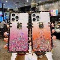 Dispositivi di lusso Bling Diamond Diamond Custodie per iPhone 13 12 Mini 11 Pro Max XR XS X SE 7 8 Plus Samsung Galaxy S21 Ultra S20 Nota 20 10 Caso Designer
