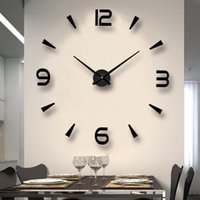 Special Large Diy Quartz 3d Wall Clock Living Room Decoration Big Watch Mirror Stickers Modern Design Home Decor Clocks
