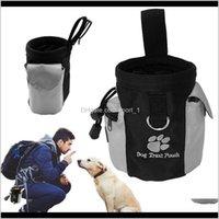 الناقل الكلب كلب جرو وجبة خفيفة حقيبة ماء طاعة اليدين أجيليتي الطعم الطعام التدريب علاج القطار الحقيبة AAA102 KMAGX GTMP4