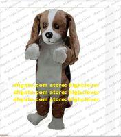 Beagle Dog Basset гончая талисман костюм для взрослого мультфильма наряд персонаж костюм, посвященный бизнесу легкая атлетика встретить zz7957