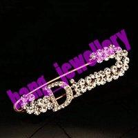 Открыты как C Paris Brooches Pins Crystal Pick Brooch Женщины Pin Одежда Костюмы Аксессуары Украшения Ювелирных Изделий Канал