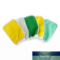 Korea Tape Back Brush Scrub Gloves Exfoliating Body Towel Massage Shower Scrubber Exfoliating Sponge Wash Bath Gloves
