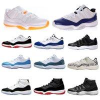 Zapatillas de baloncesto 11 zapatillas de deporte alto Jubileo 25º aniversario Concord 45 criado Ganado como 96 Cool Grey Legend Legend Blue Bright Citrus UNC Snakeskin Hombres para hombres para hombres