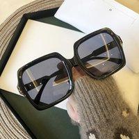 جودة عالية العلامة التجارية تصميم نظارات للنساء الفاخرة سيدة ساحة الشمس النظارات امرأة التدرج الوردي الزرقاء عدسة الرجال النظارات