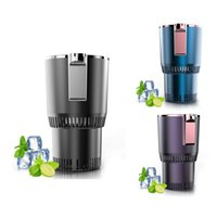 Water Bottles Home Car Cup Cooler Warmer Quick Electric Cooling 3-58Celsius Heat And Cold Drink US Plug