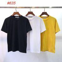 브랜드 디자인 # 635 여름 티셔츠 패션 클래식 티셔츠 라운드 넥 3 색 캐주얼 남성 반팔 티셔츠 M-2XL