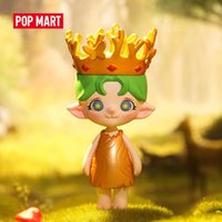 POP MART Fairy Zoe Blind Box 1 Piece 8-10cm Cute Toy Action Kawaii Figure Gift Kid