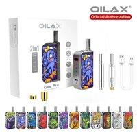 100% authentische Zerstäuber-Kits angepasste Batterie VOL Oilax Cito Pro Vape Werkzeugstift-Verdampfer 2 in 1 Starter Kit Elektronische Zigarette 400mAh variable Spannungsvapes Vorwärmen