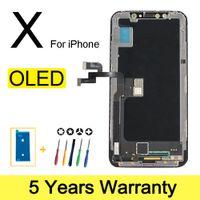 100% Yeni OLED LCD iPhone x 11 Ekran Toptan Fiyat Fabrika Ekranından iPhone x XS XR Ekran 100% Test İyi 3D Dokunuş