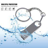 Metal Waterpoof USB Flaş Sürücüler 64 GB ThumpDrive 16 GB 4 GB Pendrive 32 GB Memory Stick Kalem Sürücü USB2.0