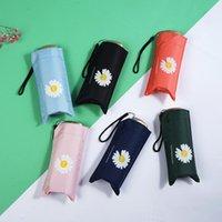 Umbrellas Ultralight Mini Umbrella Windproof Anti-UV Protection 5 Folding Portable Travel Rain Women Pocket Kid