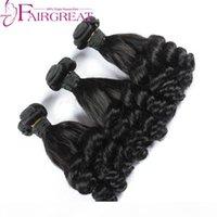 البرازيلي fumi حليقة الشعر 3 قطع البرازيلي الشعر البشري ينسج الطبيعي الأسود عمتي fumi نطاط الشعر حزم الشعر