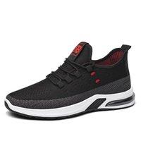 2021 Hotsale Running Shoes para Homens Mulheres Preto Branco Marrom Vermelho Cinza Mens Sapato Mulheres Confortável Respirável Treinadores Esportes Sapatilhas Tamanho 39-44-11