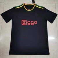 21 22 AJAX Bob Marley Soccer Jersey TADIC BERGHUIS HALLER Third black Kit BLIND PROMES NERES CRUYFF KLAASSEN GRAVENBERCH 2022 football shirt men kids sets uniforms
