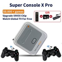 Super Console X Pro 4K HD UHD Output Wifi Video Game Portable Retro Family TV Gaming Player 256G With 50000+ Games Players