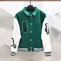 2021 Wholesale-Bomber Jacket Designer Outono Casaco Casual Ao Ar Livre Sportswear Terry Basquetebol Moda Luxuoso Mens Jaquetas e Casacos de Couro das Mulheres