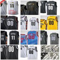 مخصص مطبوعة Kyrie 7 durant كيفن 11 irving سبنسر 26 dinwiddie جو 12 هاريس كاريال 22 Levert 31 ألين الرجال امرأة الاطفال كرة السلة الفانيلة