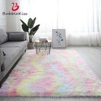 Bubble Kiss Fluffy Carpet For Living Room Shaggy Bedroom Decor Carpets Decoration Store el Area Rugs Home Floor Door Mat 210607