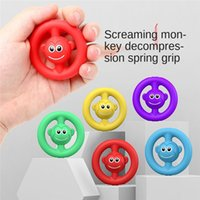 Anti Stress Finger Hand Grip Stress Reliever Fidget Toy Adult Child Simple Dimple Stress Toys Decompression Pop It Dropshipping DHL