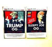 3.5g trump sleepy joe Mylar Bags biden flower Edibles packaging bag with zipper stand Candy bags dgh asg