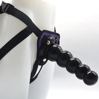 Anal Toys FAAK Plug Sex Shop 5 Balls Dildo Adult Game Strap Belt Penis SM Play On For Lesbian