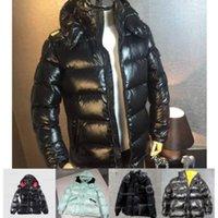 2021 высочайшее качество мужчины зима пуховик оставить теплые куртки с капюшоном пальто мужские женщины пары дизайнер зимы пальто
