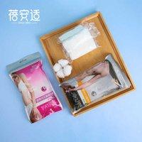 BeiaShi Desechable Ropa interior Maternidad Viajes Pantalones de algodón Lavado para mujeres Shorts adultos gratis