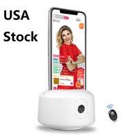 Auto Tracking Telefon Uchwyt z Bluetooth Remote 360 Rotation Monopod Track Camera Mount Smart Shooting Selfie Tripod dla iPhone Smartphone Video Live Stream