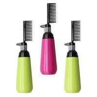Cheveux Brosses 3pcs 150ml Dye vide Colorant Bouteille de brosse à colorier peigne de distribution