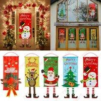 عيد الميلاد باب الشرفة باب راية شنقا ديكورات ديكورات مول حزب فندق المنزل زينة عيد الميلاد سنة جديدة سعيدة