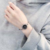 Дизайнерские роскошные брендовые часы женщин эс браслет стиль открытия простого ретро искусства мода кварцевый relogio Feminino