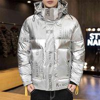 Aveiro para baixo Vender Inverno Down-Casaco-Homens Com Capuz Ultra Luz Branco Duck Down Jacket Waterproof para Homens Youth Streetwear Casacos quentes