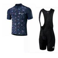 Morvelo Team Cycling Courtes manches courtes Jersey (Bib) Short Sets Pro Vêtements Vêtements Vêtements Respirant Racing Sports Vélo Maillot Soft Soux Sac à la peau Z41329