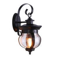 Outdoor Wall Lamps American Retro Lamp Waterproof Led Aisle Balcony Courtyard Lighting Garden Villa Exterior