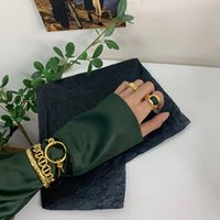 2020 hip hop trendsetter personalized nail Bracelet women's indifference niche design knot hand jewelry