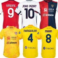 20 21 Cagliari Calcio Soccer Jerseys Godin Joao Pedro Limited Edition Nainggolan 2021 Marin Simeone Lykogiannis Sottil Pavoletti Maglie Da 축구 셔츠