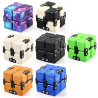 2021 dhl إنفينيتي مكعب ماجيك cube الإبداعية غالاكسي تململ اللعب مؤخرفة مكتب الوجه مكعب لغز البسيطة كتل الضغط لعبة في المخزون