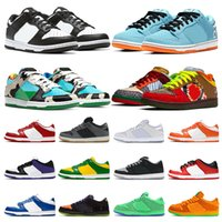 New Chunky Dunky Dunk Hombres Mujeres Running Zapatillas Bajo ACG Naranja Verde Yellow Oso Heineken Syracuse Mens Trainers Deportes Sneakers Corredores