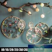 El İşlemeli Streç Çerçeve Bahçe Orman Çiçek Desen Süsler Düğün Düzenleme Ev Dekorasyon Ekran Standı Yatak Odası