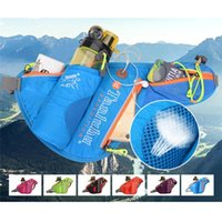Outdoor Bags Reflective Waist Running With Bottle Holder Sports Fanny Pack For Camping Hiking Fishing