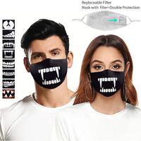 La stampa digitale della bocca 3D La maschera protettiva della zanna nera può essere equipaggiata con il chip del filtro per prevenire la foschia e la polvere Jhuy