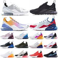 أحذية Bred 27O Running Shoes Triple Black white USA Regency Purple Platinum Tint University Red Tiger photo Blue women Mens Trainers Sports Sneakers Eur 36-45