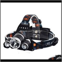 Headlamps 5000 Lumen 3X Xml 3T6 Bike Light Headlight Flashlight Head For Hunting Camping T6 Led Headlamp 73 X2 Banrg Fcckn