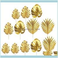 Flores decorativas guirnaldas festivas festivos suministros hogar jardín20pcs creativo decoración simulada falsas hojas artificial hoja decoración caída de